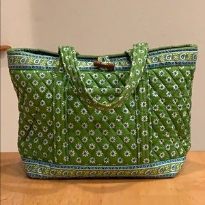 Vera Bradley Tote handbag • Apple Green